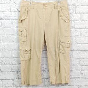 Ralph Lauren | Cargo Capri's Khaki Shorts